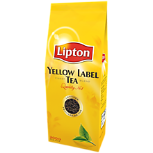 Черный чай Lipton Yellow Label Tea, 500г.