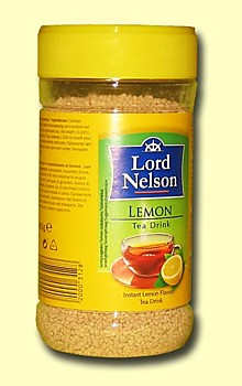 Чай растворимый Lord Nelson Lemon лимон, 400гр