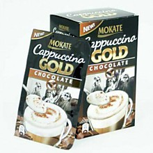 Кофе MOKATE GOLD CHOCOLATE Cappuccino 100гр, 8 пакетиков