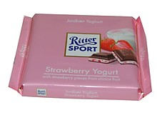 Шоколад RITTER SPORT Strawberry Yogurt , 100 гр